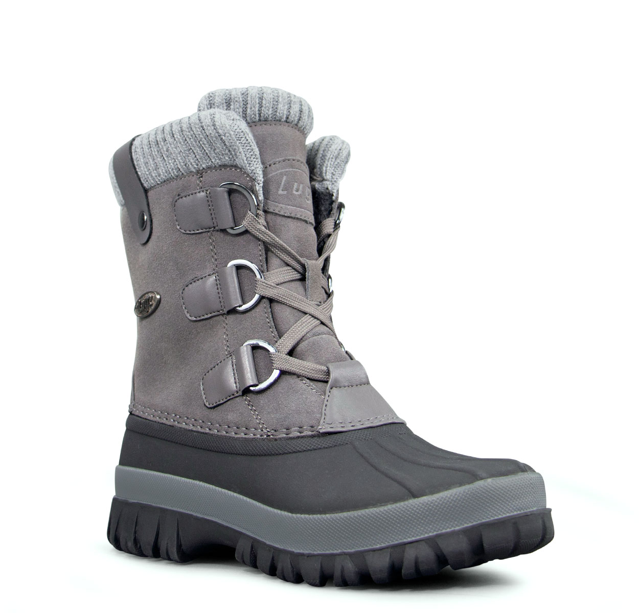 Women's Stormy 6-Inch Boot (Choose Your Color: DK GREY/GREY/BLACK, Choose Your Size: 7.0)