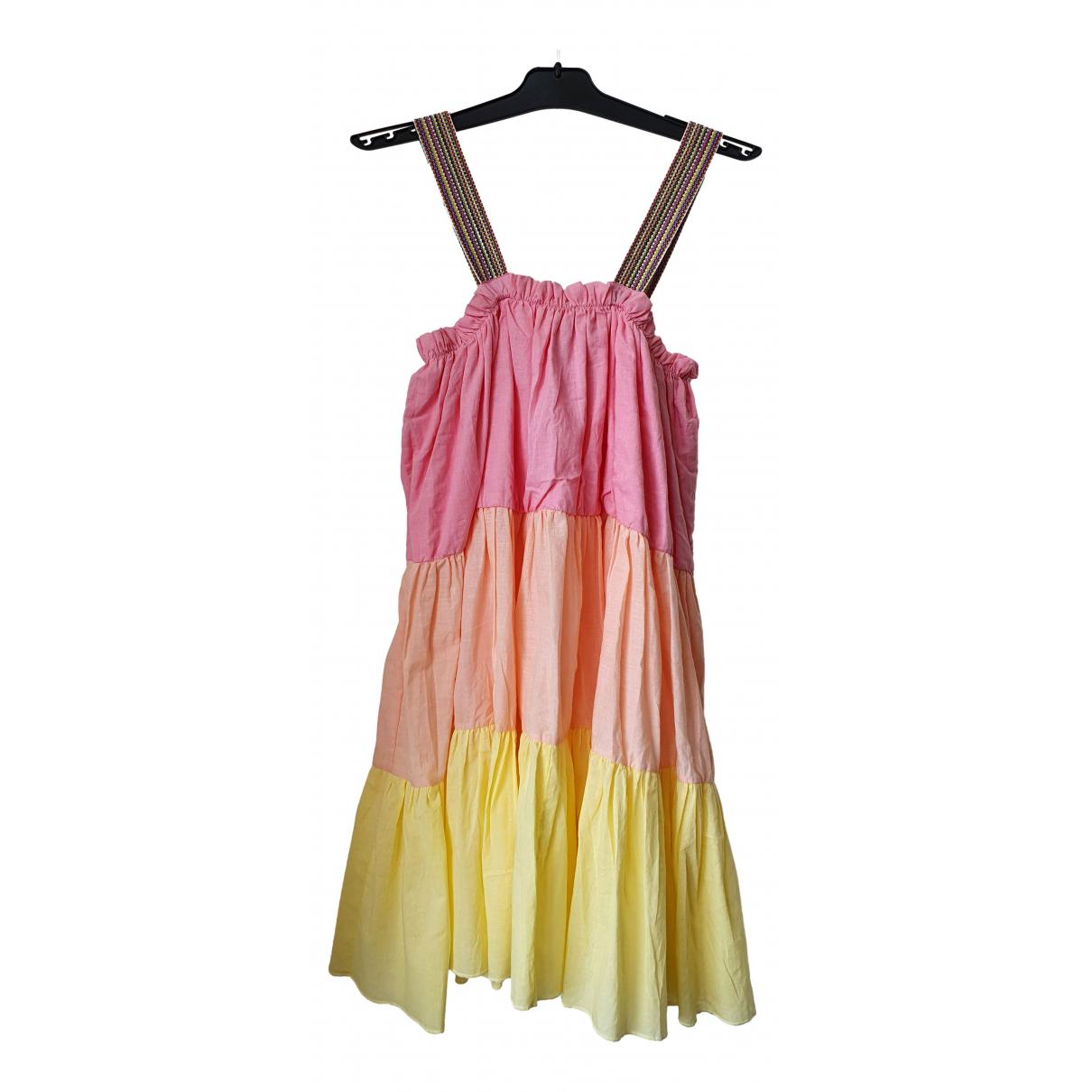 Pitusa - Robe   pour femme en coton - rose