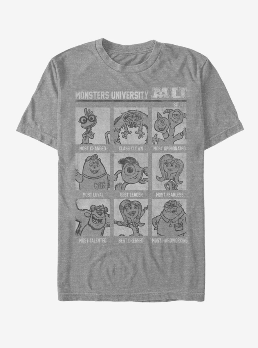 Disney Pixar Monsters University Monsters Yearbook T-Shirt
