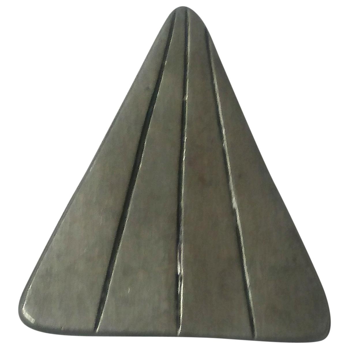 - Broche   pour femme en metal - gris