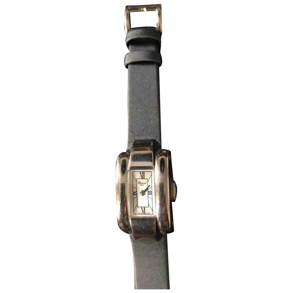 Chopard La Strada Anthracite Steel watch for Women \N