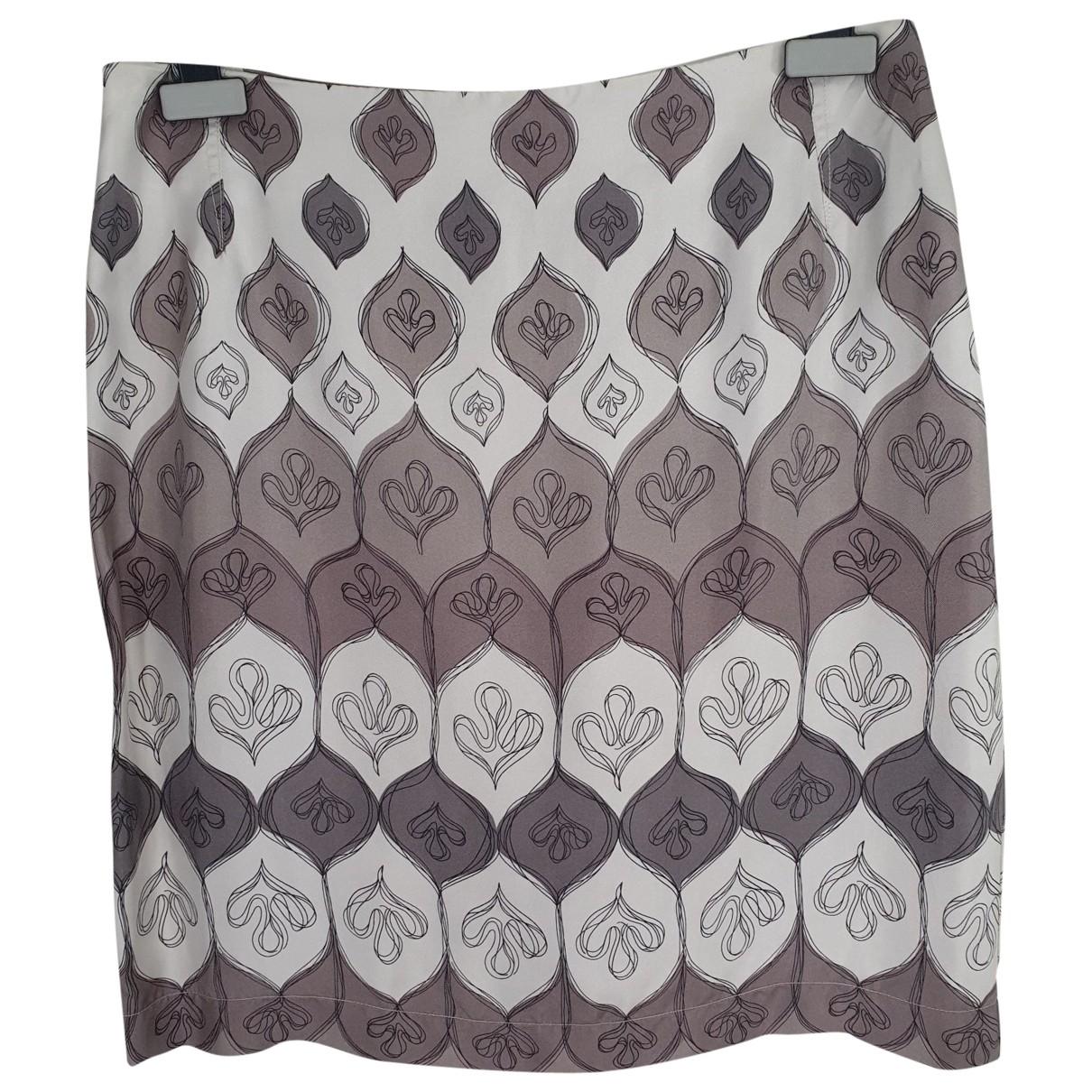 Maliparmi - Jupe   pour femme en soie - multicolore