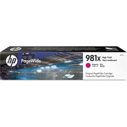 HP 981X L0R10A cartouche d'encre PageWide originale magenta haute capacité