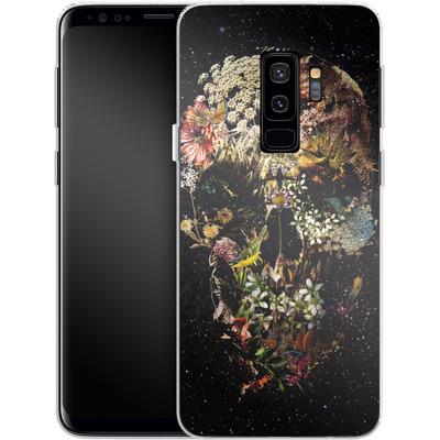 Samsung Galaxy S9 Plus Silikon Handyhuelle - Smyrna Skull von Ali Gulec
