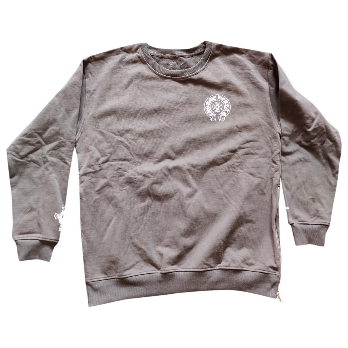 Chrome Hearts \N Pullover.Westen.Sweatshirts  in  Grau Baumwolle