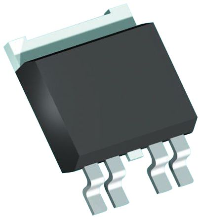 Infineon BTS500801TEAAUMA1, 1-Channel Intelligent Power Switch, High Side, 10A, -16 → 38V 5-Pin, TO-252 (5)