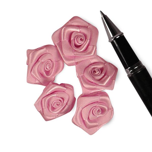Pink Satin Rose 1