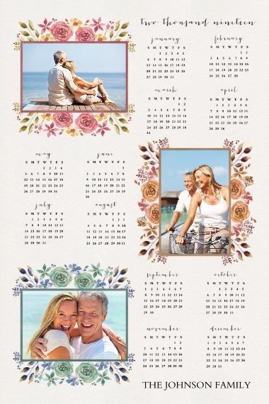 Calendar 20x30 Poster(s), Board, Home Décor -Love and Joy