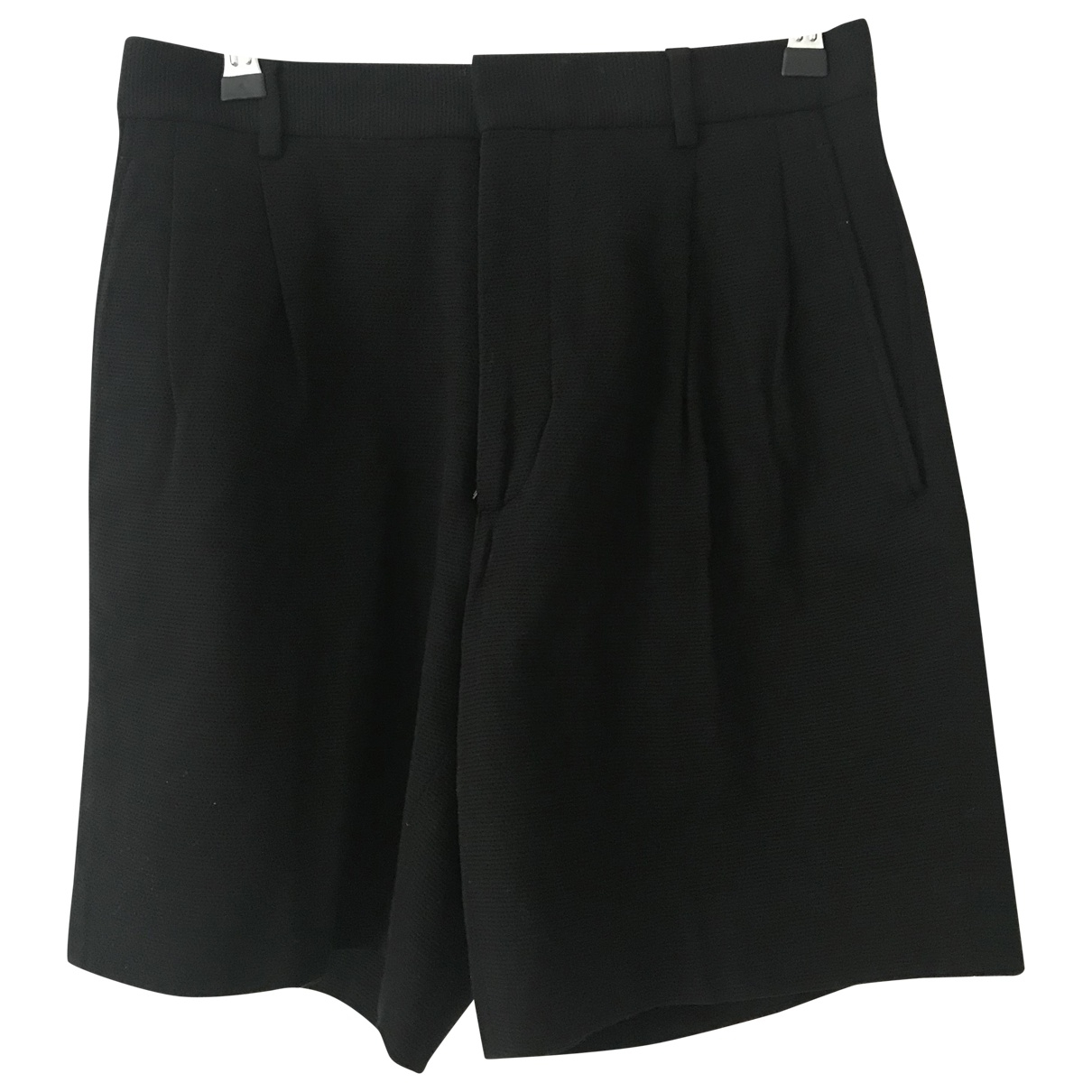 Dior Homme \N Black Cotton Shorts for Men 44 IT