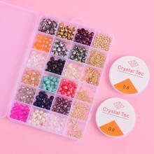 Set joya de niñas con diseño de cristal DIY
