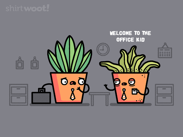 Office Plants T Shirt
