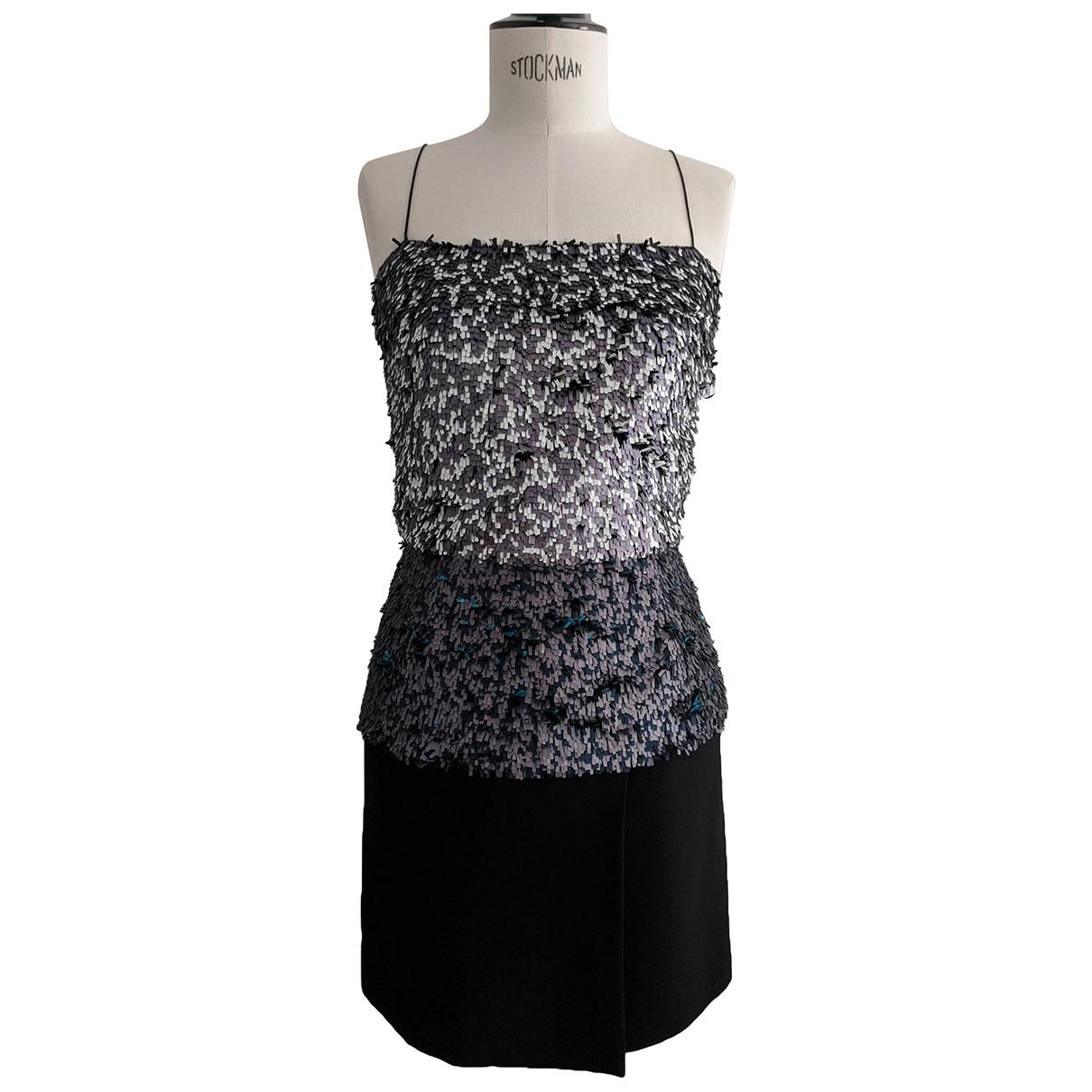 Dior \N Blue Glitter dress for Women 36 FR