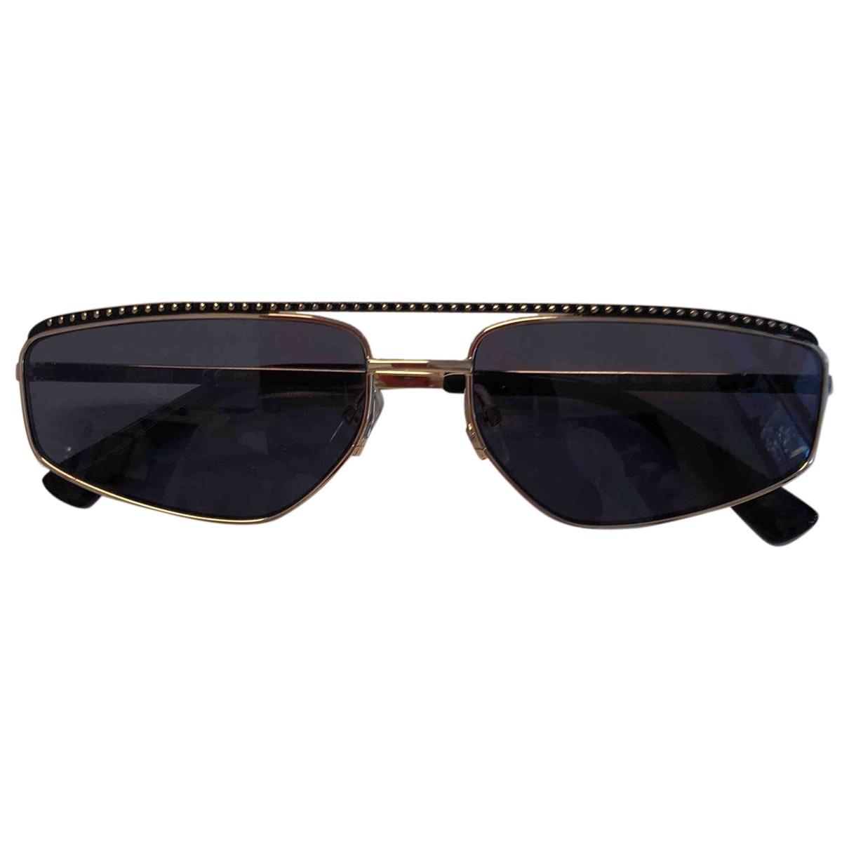 Moschino \N Sonnenbrillen in  Gold Metall