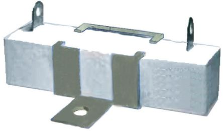 TE Connectivity SQ Series Tab Termination Wire Wound Panel Mount Resistor, 6.8Ω ±5% 40W (5)