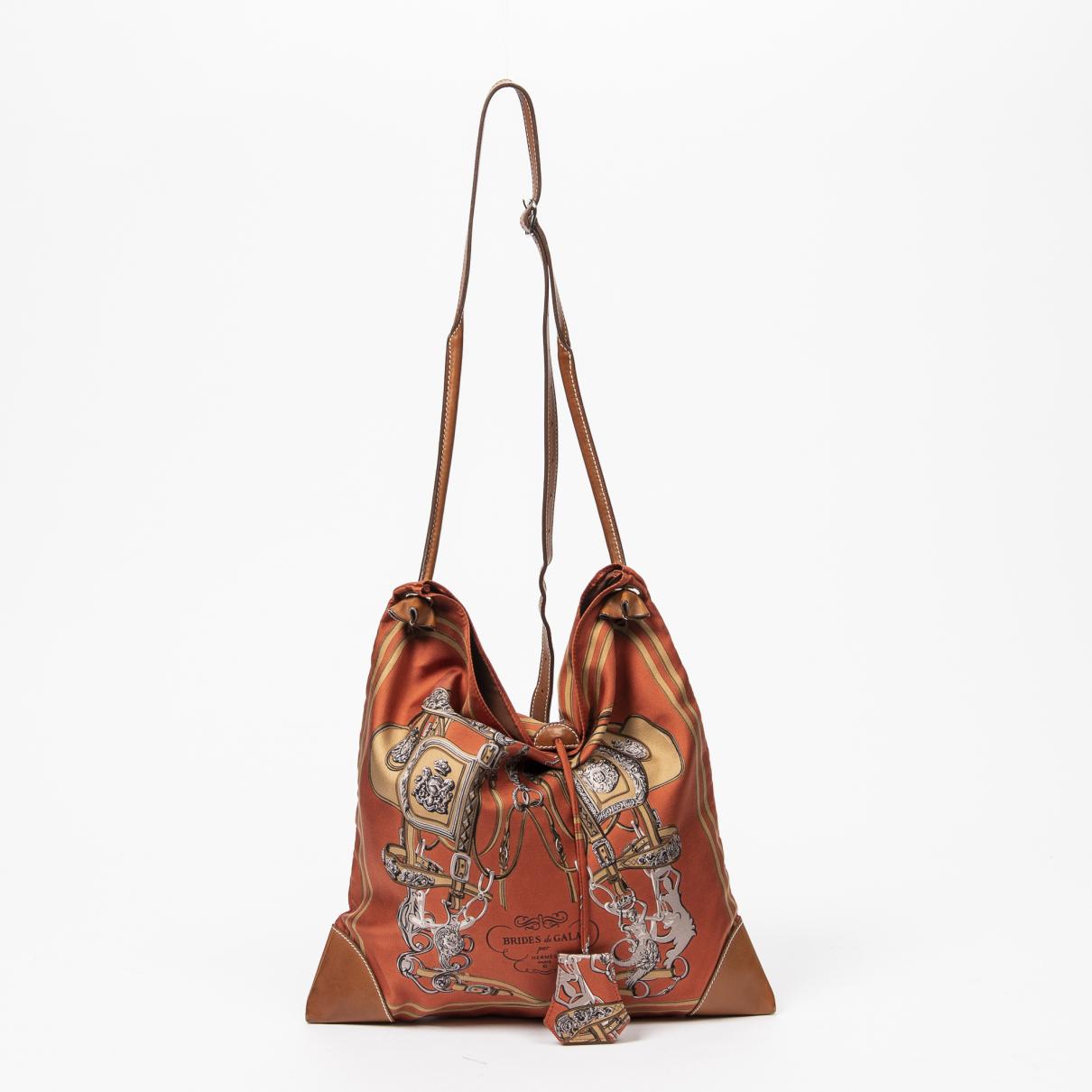 Hermès Silk City Multicolour Silk handbag for Women \N