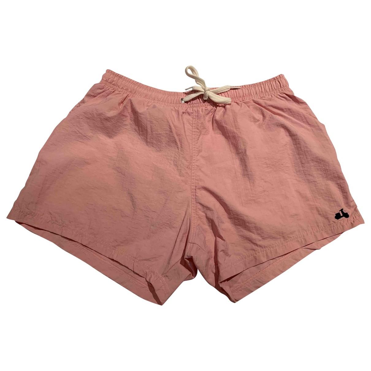 Moschino - Bain   pour homme en coton - elasthane - rose