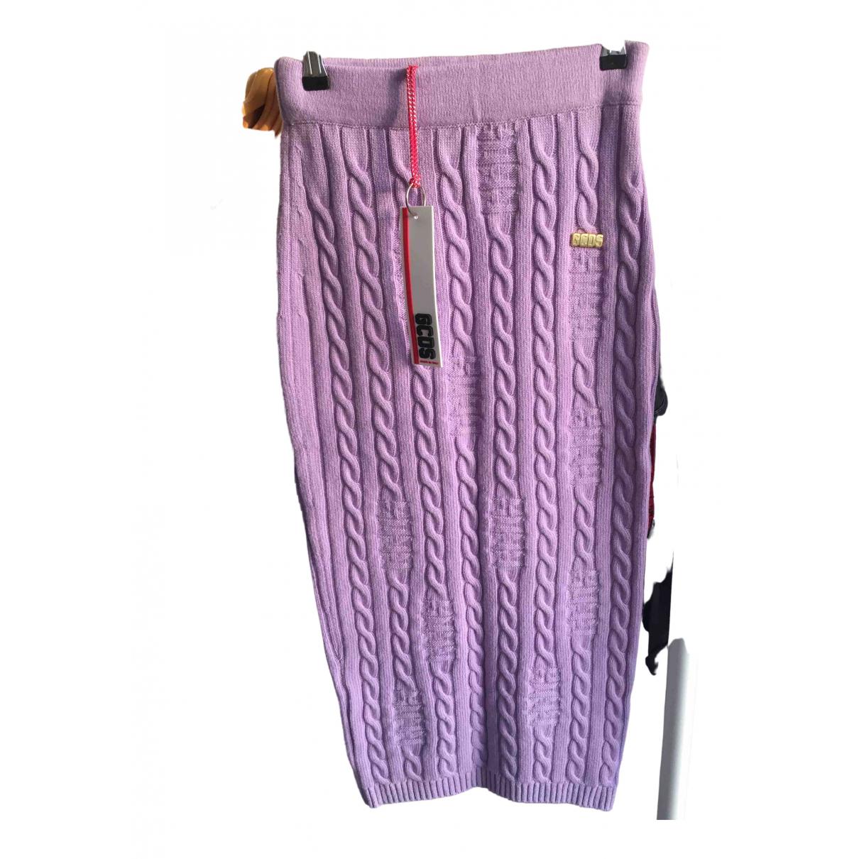 Gcds N Purple Wool skirt for Women L International