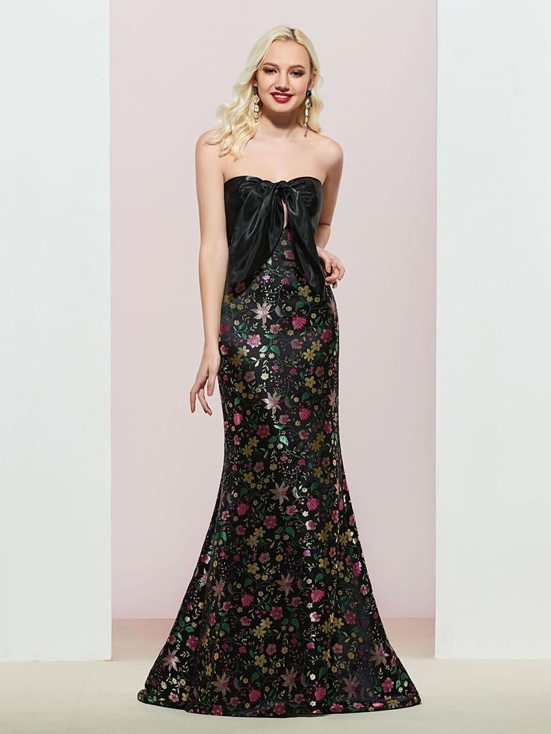 Ericdress Sweetheart Bowknot Mermaid Evening Dress