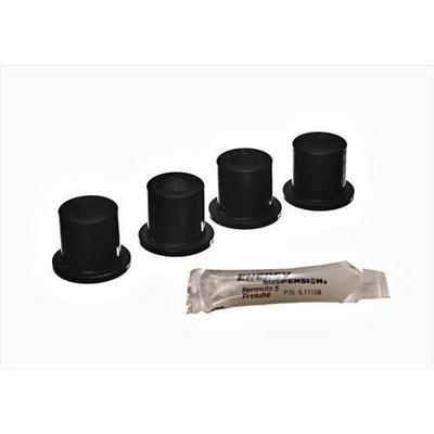 Energy Suspension Shackle Bushing Set (Black) - 2.2105G