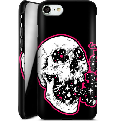 Apple iPhone 7 Smartphone Huelle - Space Skull Black von Kreatyves