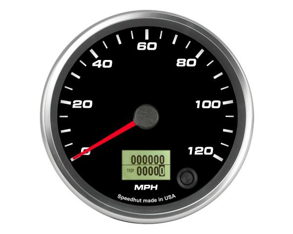 SpeedHut GR4-SPEEDO-01 Speedometer Gauge 120mph Programmable
