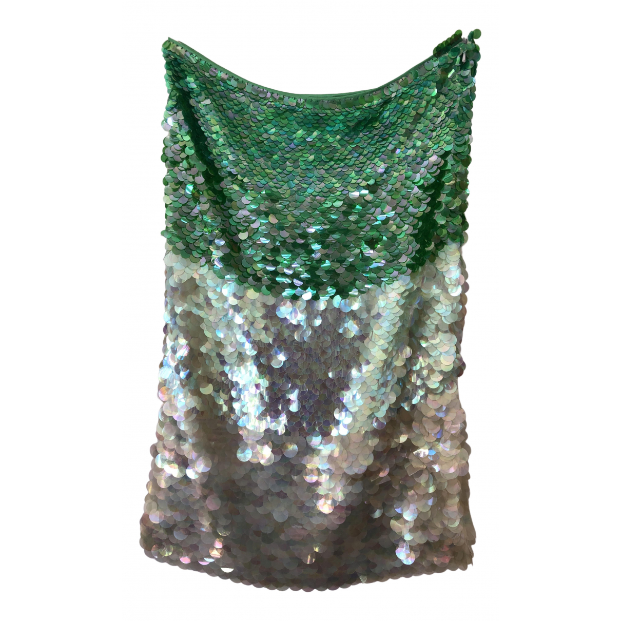 Moschino Cheap And Chic - Jupe   pour femme - vert