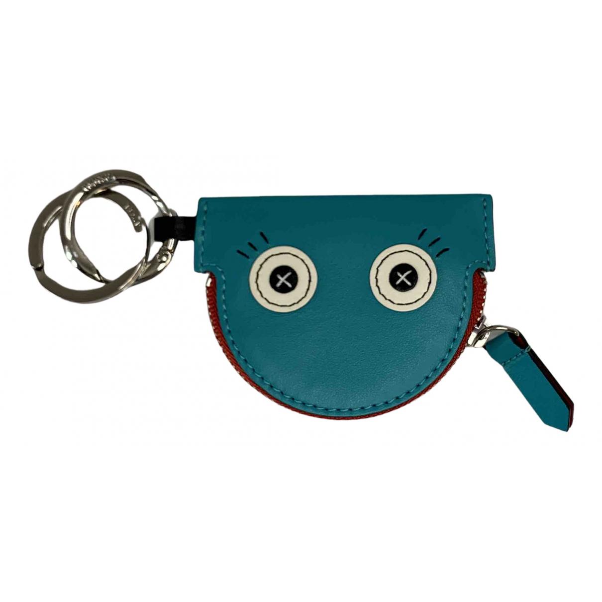 Lancel - Bijoux de sac   pour femme en cuir - bleu