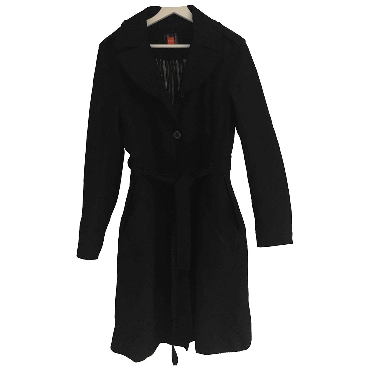 Boss Orange \N Black Wool coat for Women 38 FR