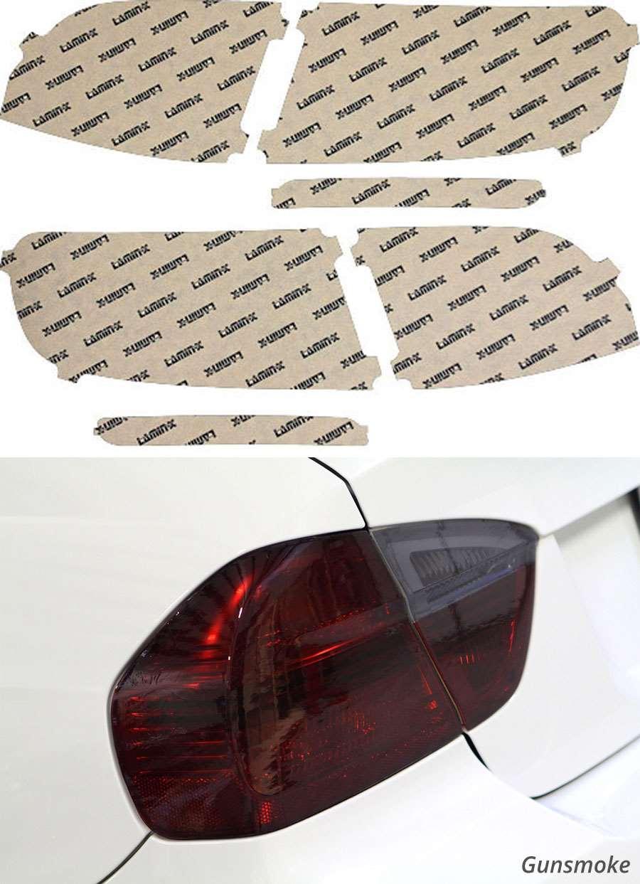 Audi Allroad 13-16 Gunsmoke Tail Light Covers Lamin-X A235G