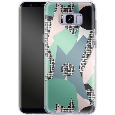 Samsung Galaxy S8 Plus Silikon Handyhuelle - Mountains von Jenna Kunnas