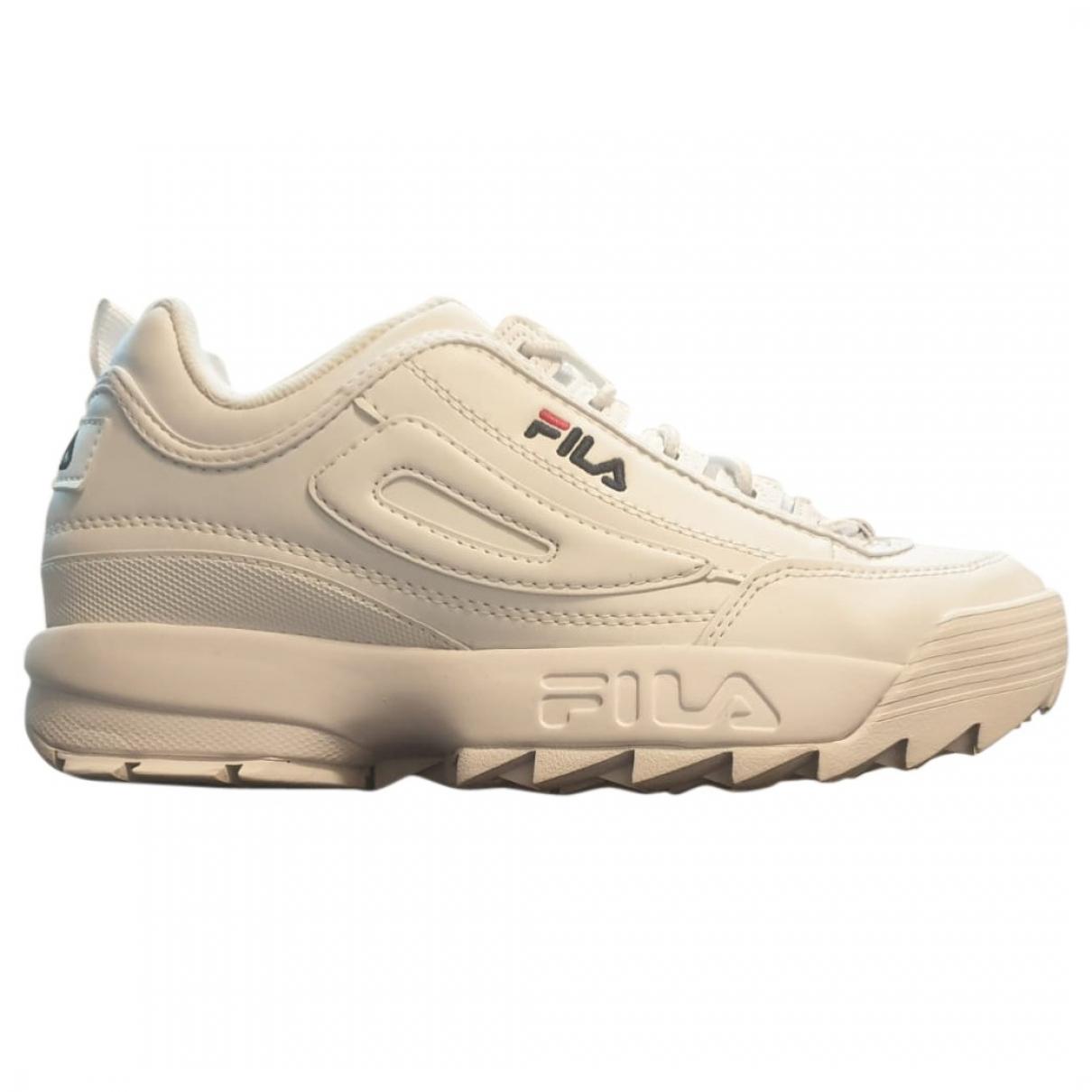 Fila \N Sneakers in  Weiss Leder