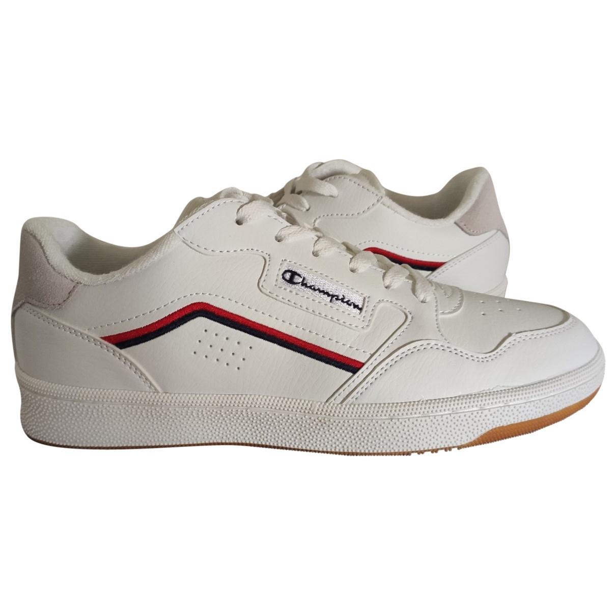 Champion \N Sneakers in  Weiss Leder