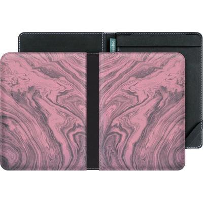 tolino vision 3 HD eBook Reader Huelle - Pink Marble von Emanuela Carratoni
