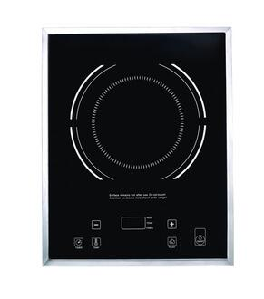 BI001 Drop In Induction Range with High Quality Glass Cook Top  Digital Temperature Control  Easy Clean Design  and Hard Plastic Frame  in