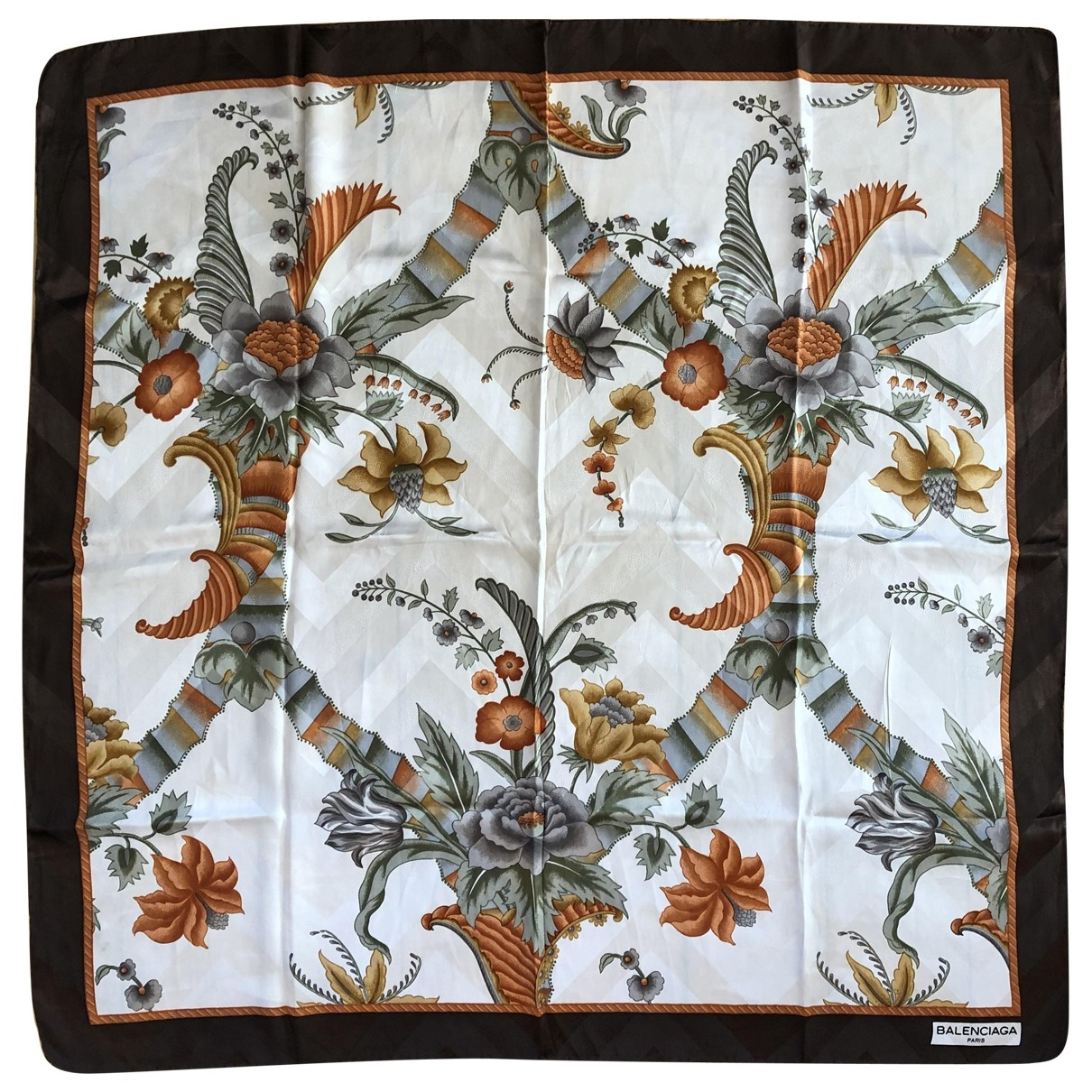 Balenciaga \N Multicolour Silk scarf for Women \N