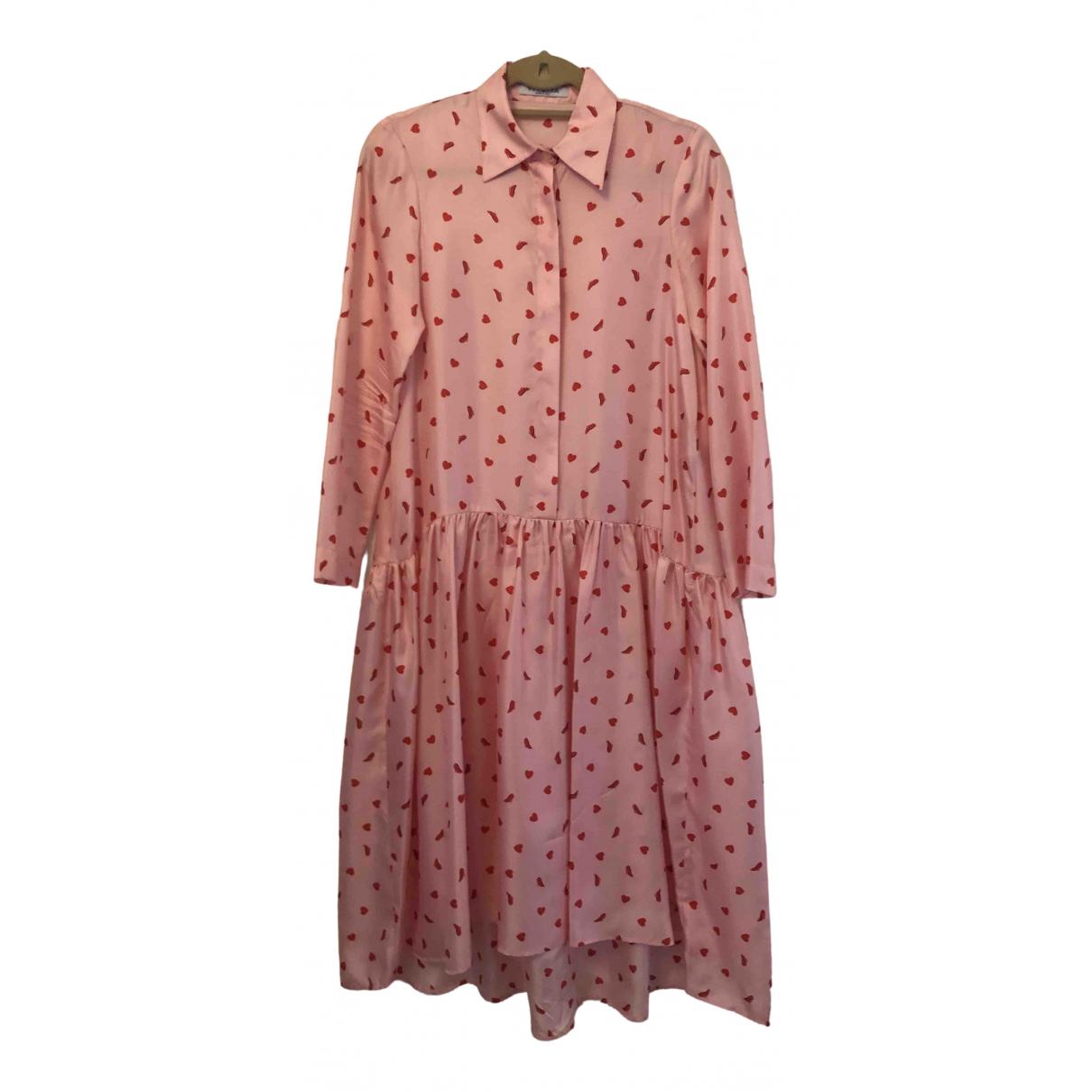 Vivetta \N Pink Silk dress for Women 38 FR