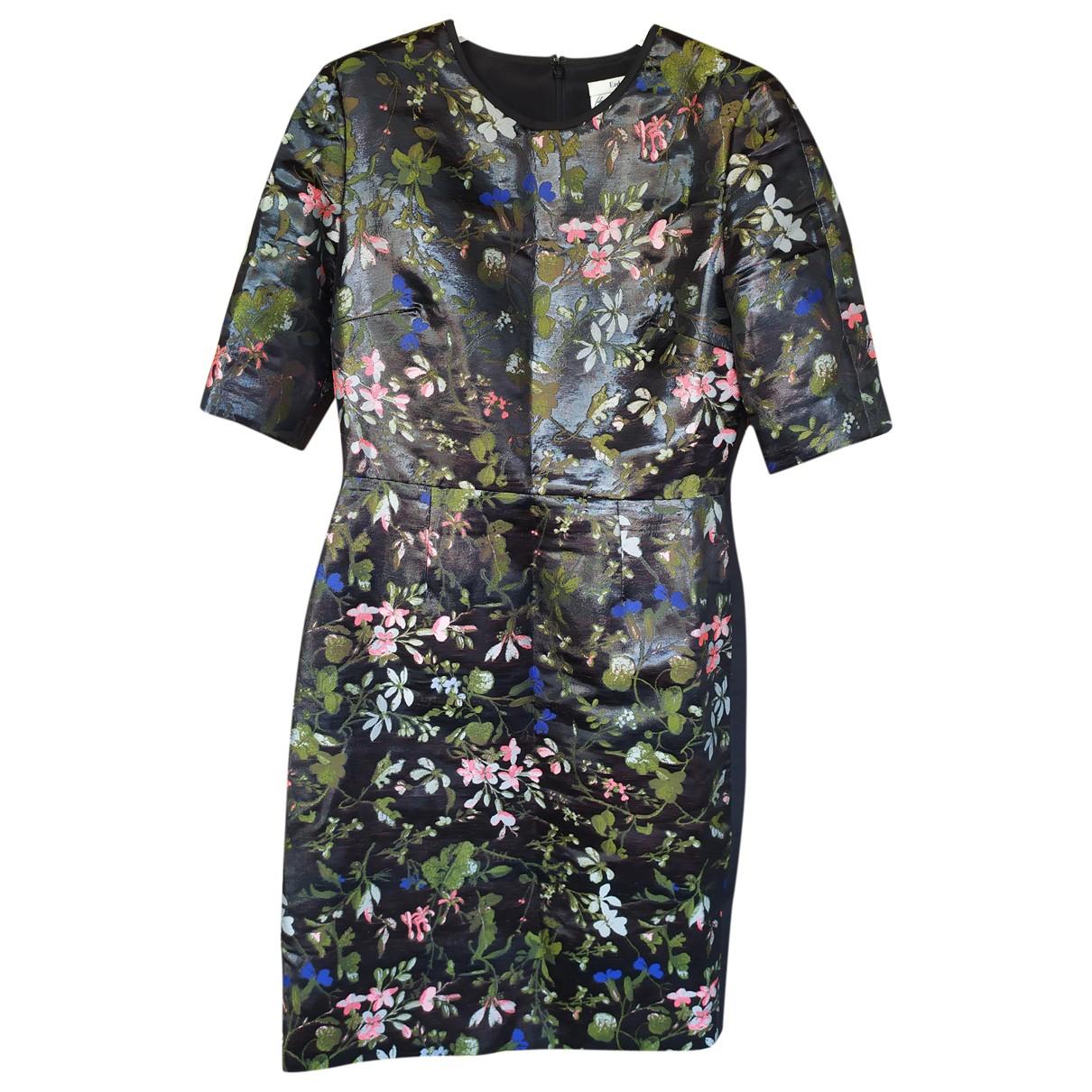 Erdem - Robe   pour femme en soie - multicolore
