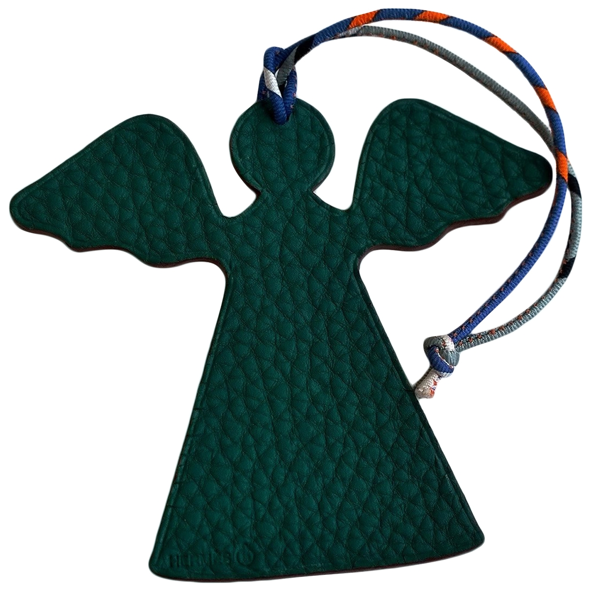 Hermès Petit H Green Leather Bag charms for Women \N