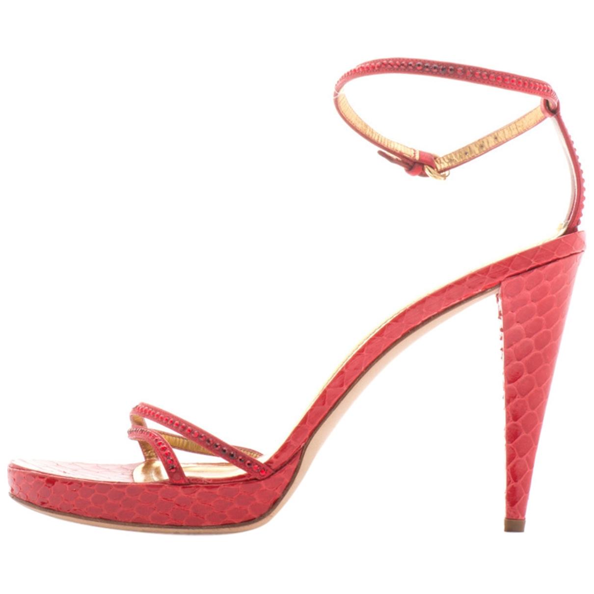 Sandalias de Cuero Rodo