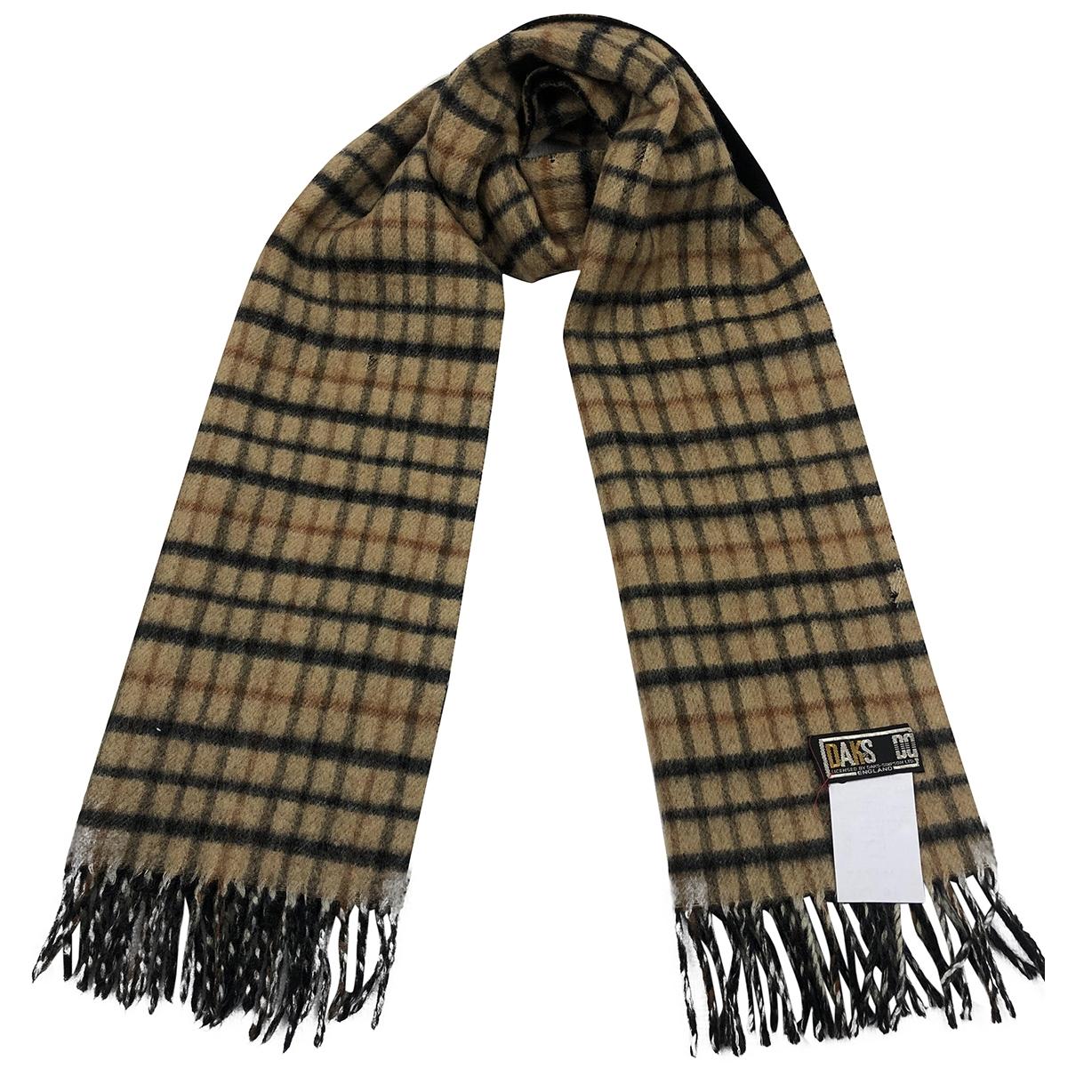 Daks - Cheches.Echarpes   pour homme en laine - marron