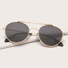 Maenner Sonnenbrille mit Metall Rahmen