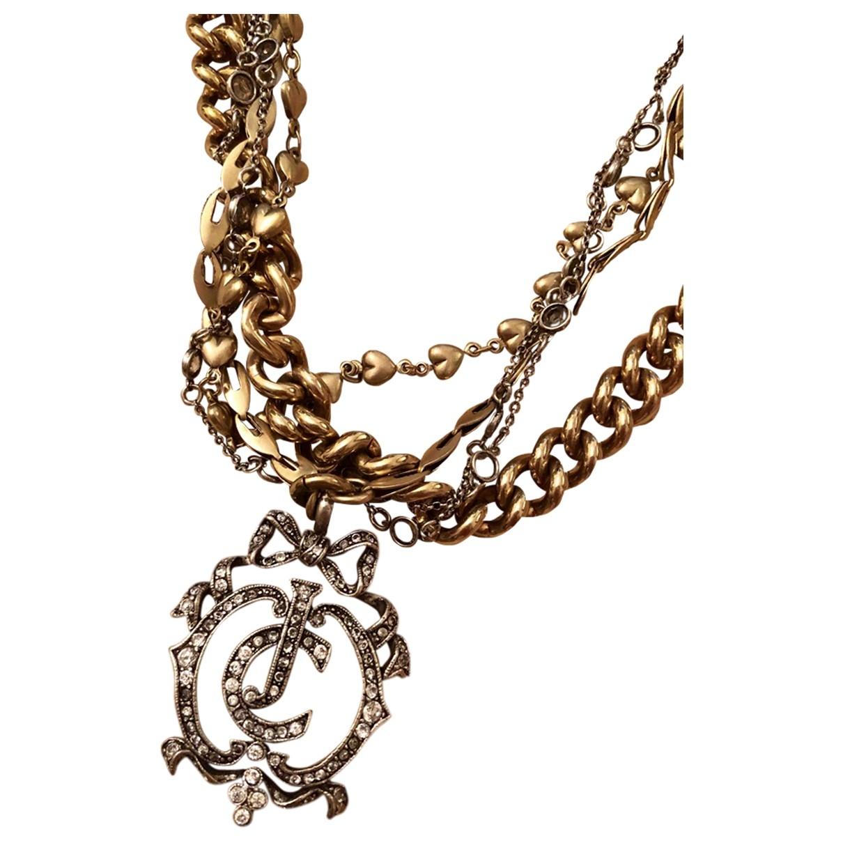 Juicy Couture - Collier   pour femme en metal - dore