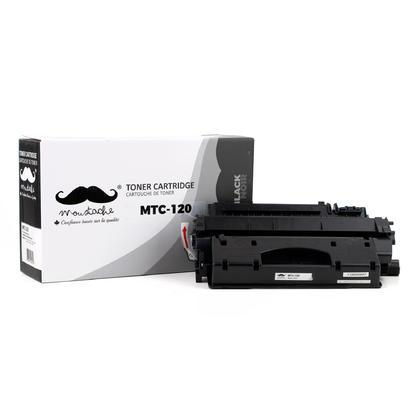 Compatible Canon ImageClass D1370 Toner 120 2617B001AA Black  - Moustache