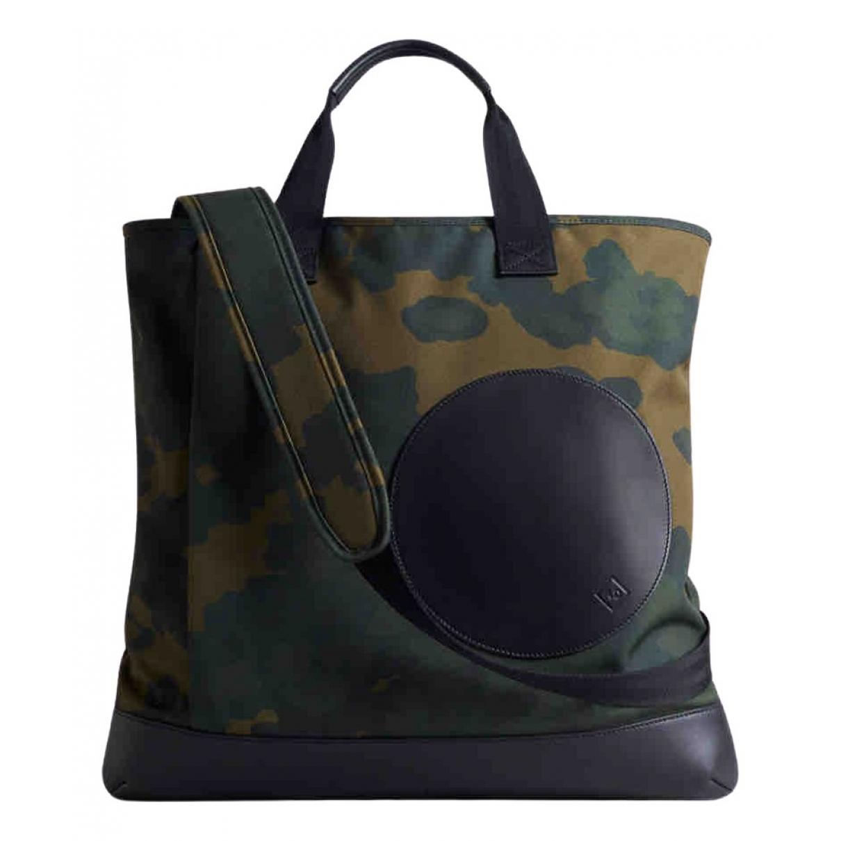 Alfred Dunhill \N Khaki Cloth bag for Men \N
