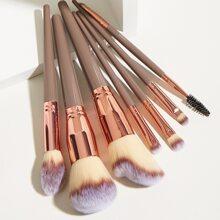 7 piezas set cepillo de maquillaje