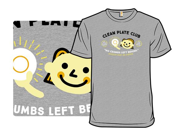 Clean Plate Club T Shirt