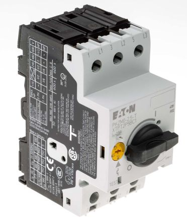 Eaton 690 V ac Motor Protection Circuit Breaker - 3P Channels, 1.6 → 2.5 A, 150 kA