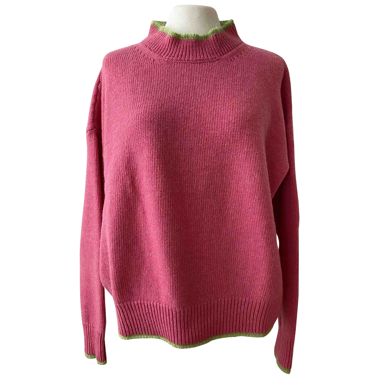 Marni \N Pullover in  Rosa Wolle