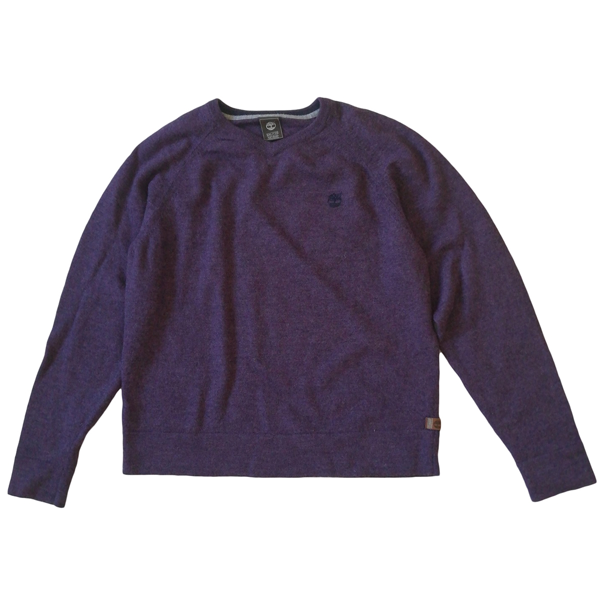 Timberland \N Purple Wool Knitwear & Sweatshirts for Men XXL International