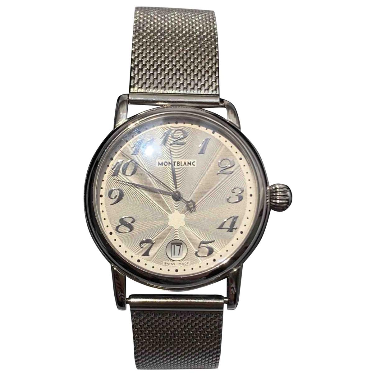 Montblanc \N Uhr in Stahl